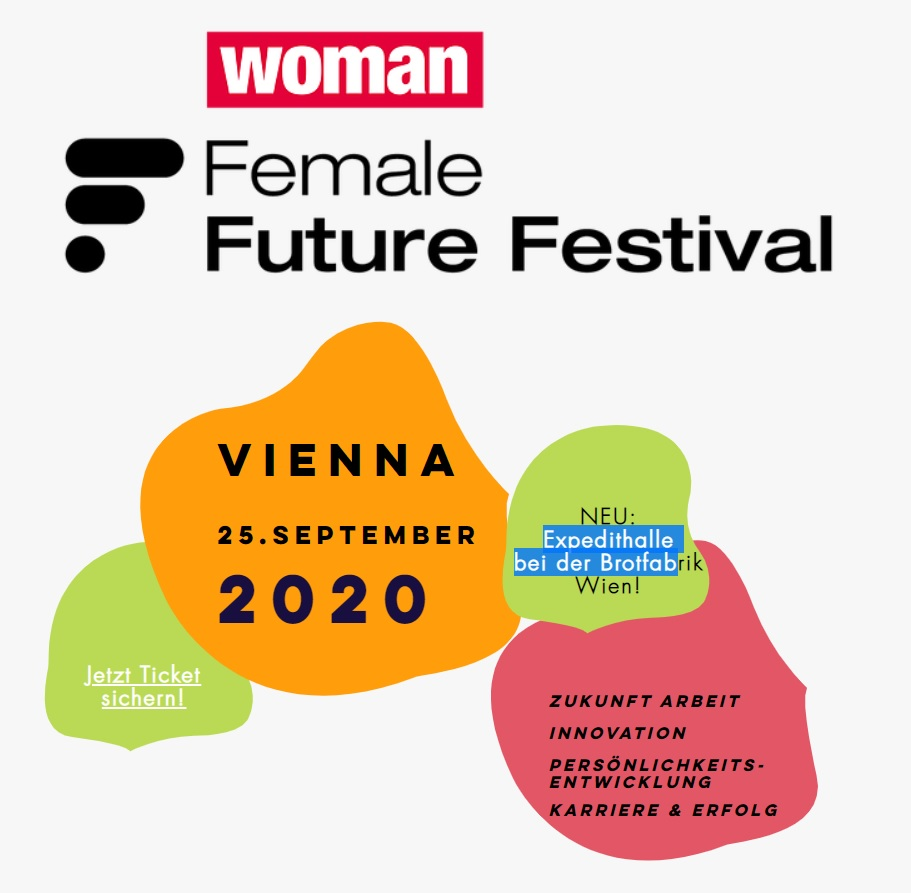 Female Future Festival Vienna Flyer 2020